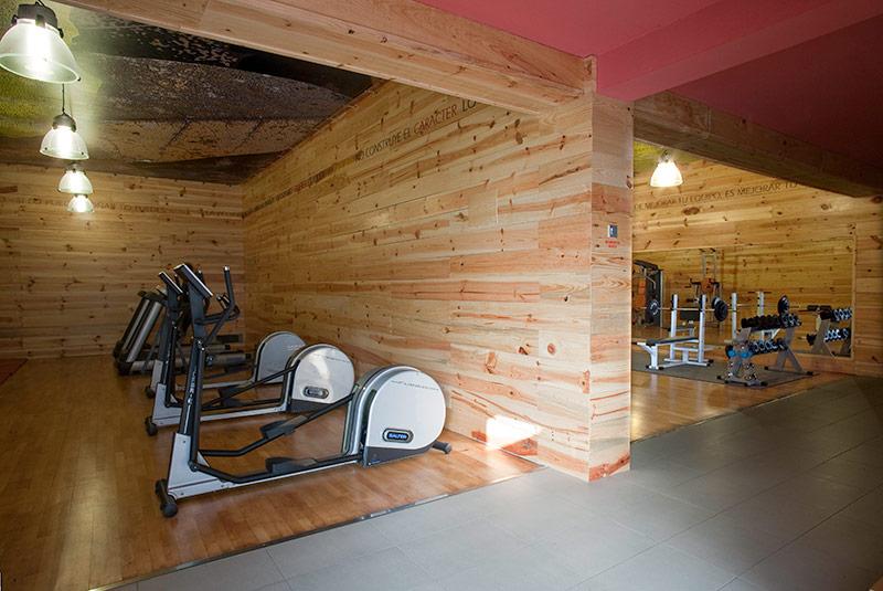 Gimnasio club de campo la fresneda d az dec ddec dise o decoraci n interiorismo y - Decoracion de gimnasios ...