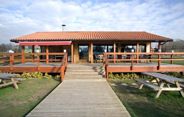 Cafetería Madera La Fresneda